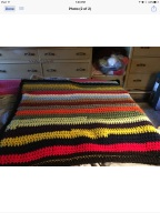 Handmade blanket Norma