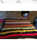 Handmade blanket Norma